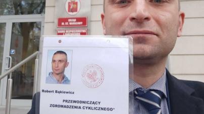 Robert Bąkiewicz odebrał legitymację przewodniczącego zgromadzenia