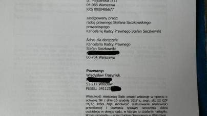 Stowarzyszenie Marsz Niepodległości pozywa Władysława Frasyniuka