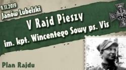"""V Rajd Pieszy im. kpt. Wincentego Sowy ps. """"Vis"""" [WYDARZENIE]"""