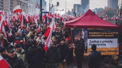 #STOP447 Kilkadziesiąt pikiet Rot Niepodległości na koniec zbiórki!