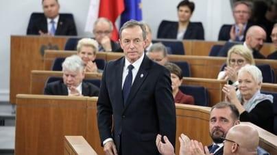 Będzie orędzie marszałka Senatu, Tomasza Grodzkiego
