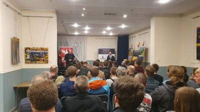Spotkania z Krzysztofem Bosakiem w Żorach i Orzeszu. Kampania trwa