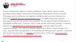 """RAŚ i szef Ukraińców w Polsce piszą o """"polskich obozach koncentracyjnych"""""""