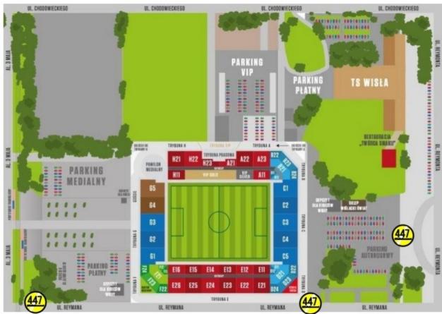 Będzie zbiórka #STOP447 przed meczem Wisły Kraków z Pogonią