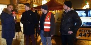 Z wizytą u Roty w Toruniu. Zbiórka #STOP447 trwa [WIDEO]