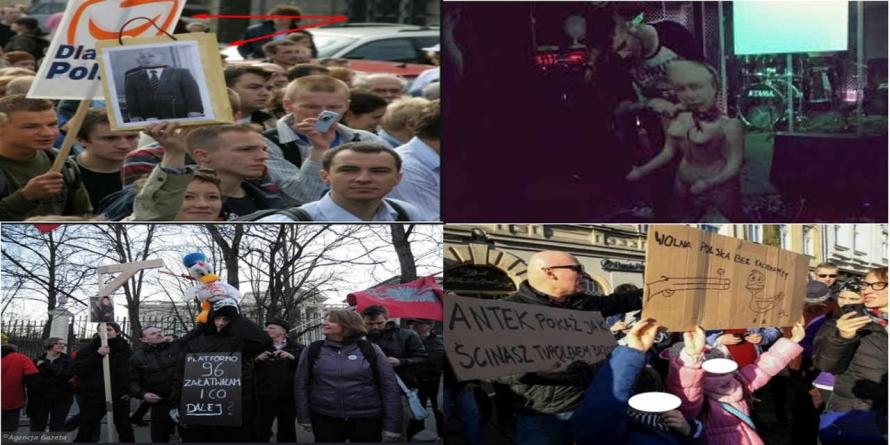"""[OPINIA] """"Demoliberalna hipokryzja"""" – o histerii ws. happeningu politycznego w Katowicach"""
