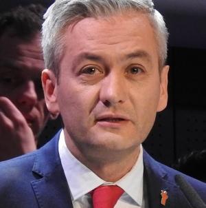 Robert Biedroń chce powtórzyć sukces Aleksandra Kwaśniewskiego