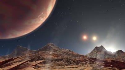 Egzoplaneta z deszczami w postaci kropel żelaza