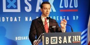 [SONDAŻ] Krzysztof Bosak ma już 5% w sondażu. Ostatnio było tylko 3%