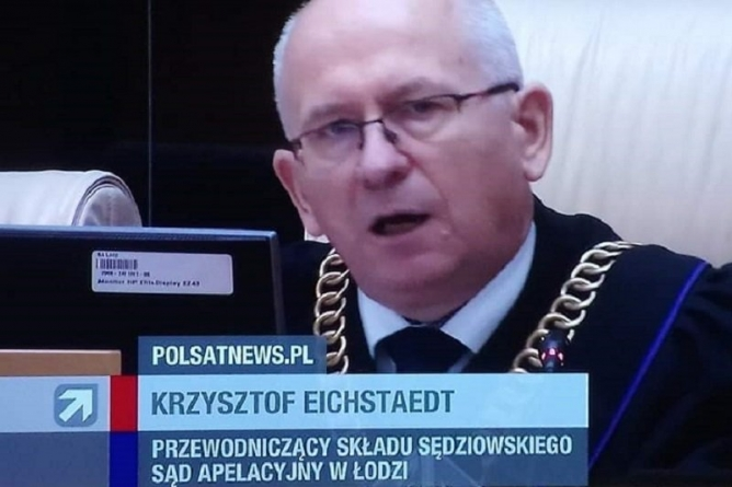[OPINIA] Gogulska: Patologiczne poczucie sprawiedliwości sędziego Eichstaedta