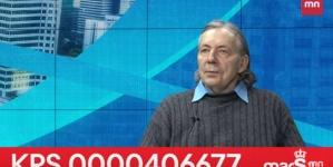 """Modrzejewski: """"Są ludzie, którzy chcą pełnej władzy nad światem"""" [WIDEO]"""