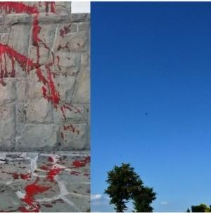 Laicki terror trwa w najlepsze. Wandale sprofanowali Krzyż Trzeciego Tysiąclecia