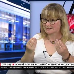 """OSTRO! Rzeuska: """"PiS okłamuje Polaków za ich własne pieniądze"""" [WIDEO]"""