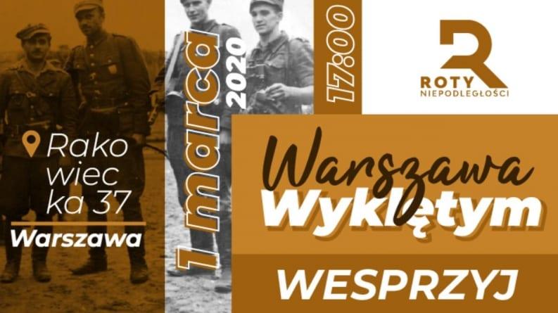 Warszawa Wyklętym: Przyjdź i oddaj hołd! Niesamowity spot Rot Niepodległości [WIDEO]