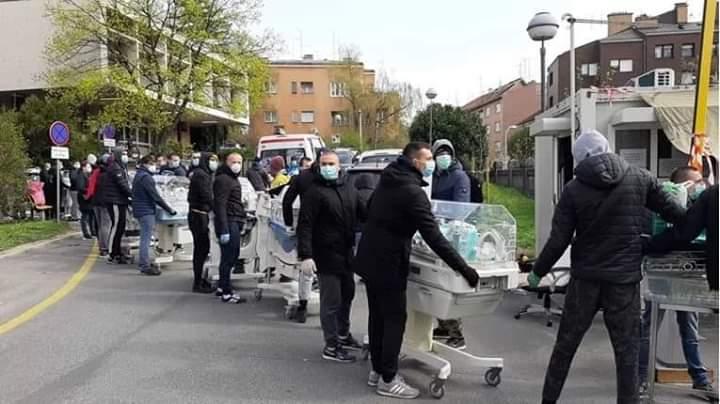 Trzęsienie ziemi w Chorwacji: Kibice Dinama Zagrzeb ratowali bezbronne dzieci
