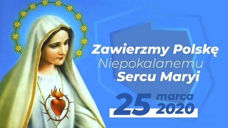18:30! Msza Święta z zawierzeniem Niepokalanemu Sercu NMP [WIDEO]