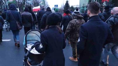 Ulicami Katowic przeszedł VII Marsz Pamięci Żołnierzy Wyklętych