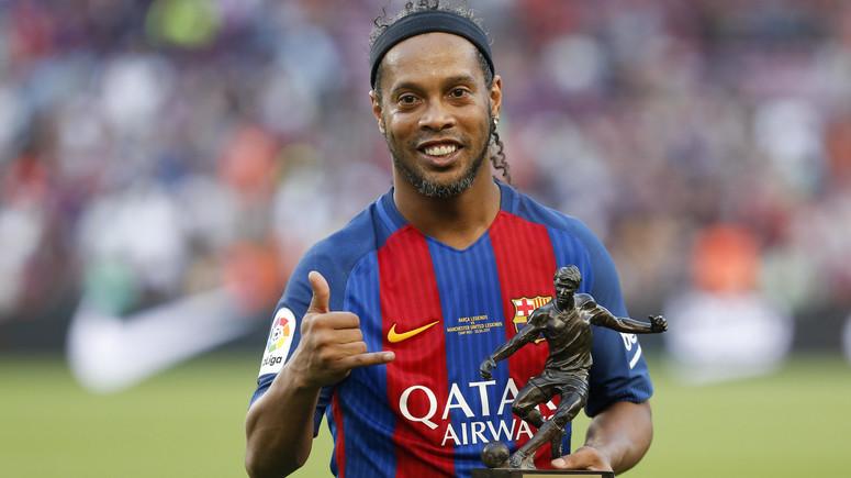 Ronaldinho zatrzymany. Kolejne problemy piłkarza z prawem