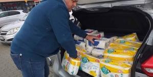 Narodowcy ze Szczecina pomagają Domowi Samotnej Matki w Policach