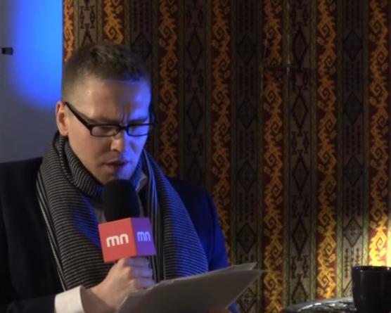 Wieczorek poetycki. Marta Cywińska, Krzysztof Lech Łuksza [WIDEO]