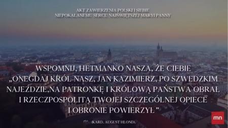 Akt zawierzenia Polski i siebie Niepokalanemu Sercu Najświętszej Maryi Panny [WIDEO]