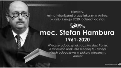 Zmarł mecenas Stefan Hambura. Internauci modlą się wraz z rodziną