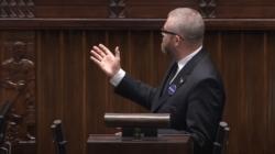 """Grzegorz Braun ukarany przez Marszałek Witek. """"Naruszył powagę sejmu"""" [WIDEO]"""