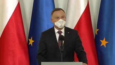 Prezydent Duda: Jeśli będę się szczepił, to w ostatniej kolejności
