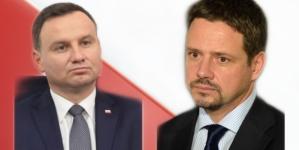 Andrzej Duda o Trzaskowskim: On mówi, a ja robię – taka jest różnica