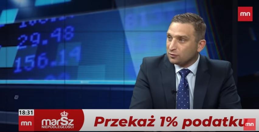 """Robert Bąkiewicz: """"Minister zdrowia powinien zostać zdymisjonowany"""" [WIDEO]"""