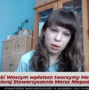 Karolina Buczkowska – młoda patriotka opowiada o swojej walce z niepełnosprawnością [WIDEO]