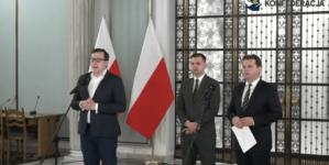 """Konfederacja prezentuje Tarczę dla Gospodarki: """"W Polsce mamy pełzający lockdown"""""""