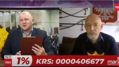 """Janusz Korwin-Mikke o łapówkach w Ministerstwie Zdrowia. """"Należy prewencyjnie aresztować cały departament polityki lekowej"""" [WIDEO]"""