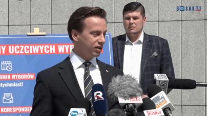 """Tomasz Grodzki chce rozmowy z Prezesem PIS. Bosak ripostuje: """"Nikt nie spodziewa się po nich rozsądku"""""""