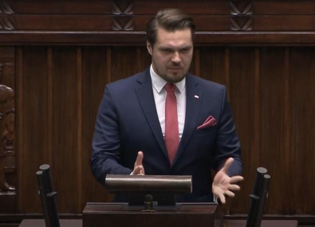 """Wazelina roku! Poseł od Gowina dziękuje PiS. Winnicki: """"Nawet Kaczyński śmiał się pod maseczką"""" [WIDEO]"""