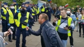 """Organizator tzw. strajku przedsiębiorców nie zamierza zrezygnować. """"Będziemy protestować dalej"""""""