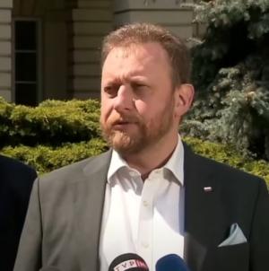 Konferencja Szumowskiego przerwana. Były minister starł się słownie z jednym z posłów PO!