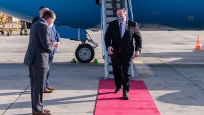 Kwitną relacje amerykańsko-izraelskie: Pierwsza wizyta w czasie epidemii i rezygnacja Ganzta z przewodniczącego Knessetu