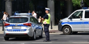 Pijani Ukraińcy zatrzymani. Wypadek podczas kontroli drogowej