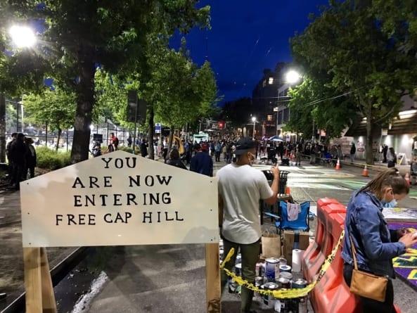 Strzelanina w Antifastanie: Trump wyśle wojsko do rozbicia autonomicznej strefy?