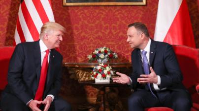W Białym Domu planowana rozmowa w cztery oczy prezydentów Dudy oraz Trumpa