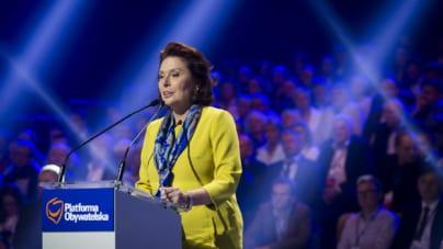 Małgorzata Kidawa-Błońska: Bardzo chciałabym, żeby prezydentem Warszawy była kobieta