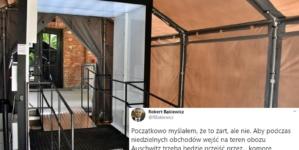 """W niedzielę ważne obchody w Auschwitz. Muzeum ustawia komory dezynfekujące dla uczestników. """"Myślałem, że to żart"""""""
