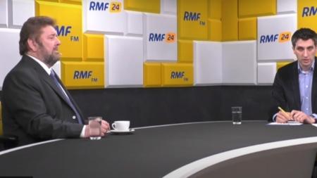 """Stanisław Żółtek gościem RMF FM. """"Jako prezydent szantażowałbym szefów partii"""" [WIDEO]"""