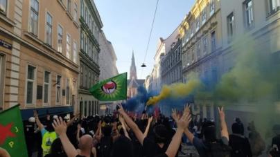 Wiedeń: Antifa starła się z tureckimi narodowcami [+VIDEO]