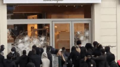 Bruksela: Grabieże sklepów jak w Stanach Zjednoczonych! [+WIDEO]