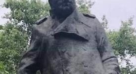 Czechy: pomnik Churchilla w Pradze zdewastowany