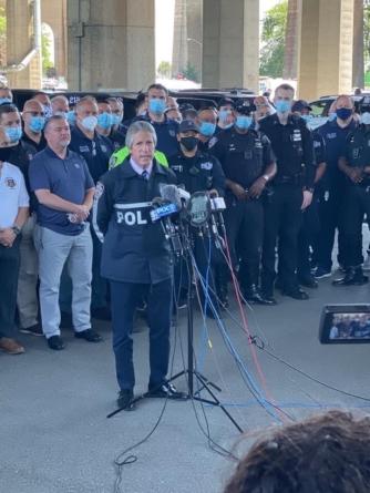 Poruszający apel prezesa PBA. Patrick Lynch wspiera kolegów z Policji