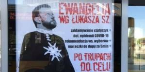"""""""Ewangelia wg Łukasza Sz."""" Zatrzymano drugą osobę w sprawie plakatów dotyczących ministra Szumowskiego"""
