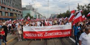 """Już jutro Marsz Powstania Warszawskiego. Bąkiewicz: """"Zapraszamy wszystkich patriotów"""""""